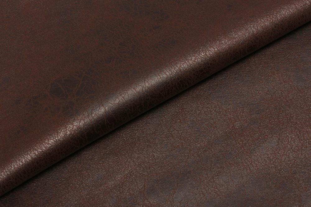 S LEATHER  DK BROWN